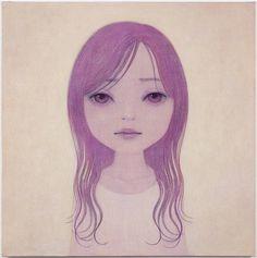 Hideaki Kawashima, Atmosphere, 2010   23.9 x 23.9 Inches  , Acrylic on Canvas