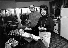 ''Somos muy felices. Nuestros hijos están sanos, comemos buenos alimentos y tenemos una linda casa''. Bill Owens 1972
