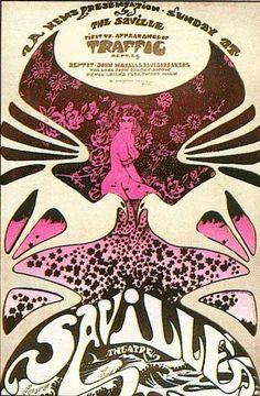Traffic, John Mayall's Bluesbreakers, Long John Baldry - Saville Theatre
