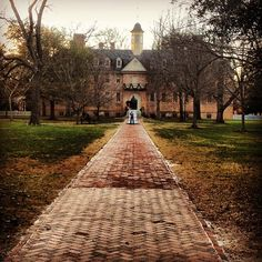 The Christopher Wren Building at The College of William and Mary, Williamsburg, VA