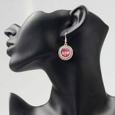 Delta Sigma Theta Earrings