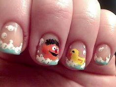 Sesame Street Nails | Nail Art/Designs | Pinterest