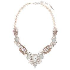 Juliet Statement Necklace - Shop now in my boutique https://www.chloeandisabel.com/boutique/marysvare #chloeandisabel #jewelry #bridal