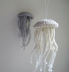 Crocheted Jellyfish by petra