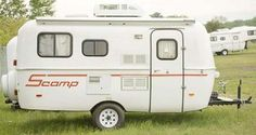 Scamp 16' travel trailer exterior