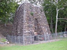 Cornwall Furnace in Cedar Bluff, Alabama in Cherokee County. It was built by the Noble Brothers to supply iron products to the Confederate Army during the US Civil War.