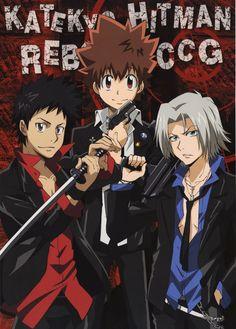 Hitman Reborn Yamamoto   Katekyo Hitman Reborn!, Takeshi Yamamoto, Hayato Gokudera, Tsunayoshi ...