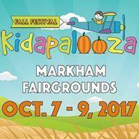 Win a family pass to Kidapalooza Fall Festival October 2017 Markham Fairgrounds Contest expires September 2017