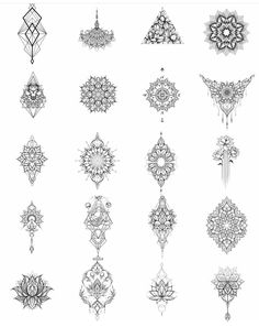 300 Sexy Tattoo Designs - Original by Tattooists Sexy Tattoos, Body Art Tattoos, Hand Tattoos, Small Tattoos, Movie Tattoos, Tatoos, Mandala Tattoo Design, Tattoo Designs, Henna Designs