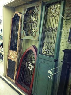 Inspiration from Hobby Lobby. & Two Hobby Lobby wall gates made into a dog gate | Living room ...