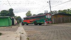 Autobus en Somoto. Nicaragua