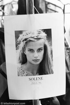 Elite Model Look 2014 - La Finale - Solene — Le Fashion Post