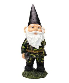 Sniper garden gnome so awesome plants flowers garden for Combat gnomes for sale