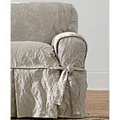 Sure Fit Slipcovers, Matelasse Damask 1-Piece Chair