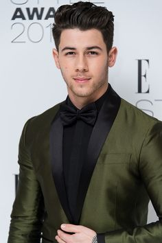 Nick Jonas attends the Elle Style Awards 2015 at Sky Garden @ The Walkie Talkie Tower on February 24, 2015 in London, England.