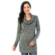 Women's AB Studio Cowlneck Tunic Sweater, Size: Xlrg Av/Rg, Ovrfl ...