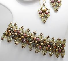 Deb Roberti's Victorian Bracelet and Earrings