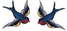 2-X-STICKER-Pair-Swallow-Bird-Tattoo-Star-Bluebird-Sailor-Emo-Punk-Heart