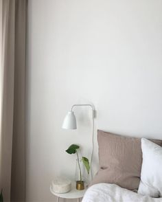 Calming bedroom in s