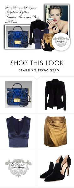 """""""SHOP - DESIGNER ITALIAN BAGS"""" by designeritalianbags ❤ liked on Polyvore featuring Alexandre Vauthier, L'Agence, Chanel and Gianvito Rossi"""