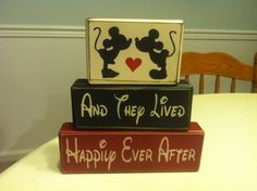 Mickey Minnie Mouse kissing wedding and they by AppleJackDesign, $23.95