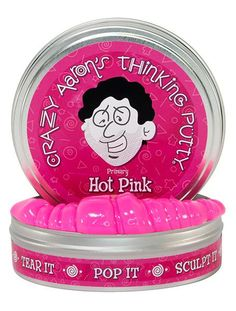 Crazy Aaron's Thinking Putty // Hot Pink