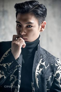 T.O.P for Cine21 Magazine I personally use this pic to show my LOVE for this board and all of my pins for it.