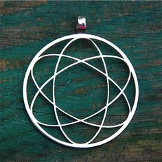 Sacred Geometry Lithium Pendant $19.99 #sacredgeometry, #jewelry, #pendant, #silver, #stainless steel, #boho, #giveaway, #floweroflife, #fashion, #freeshipping, #free, #lithium, #genesa sphere,