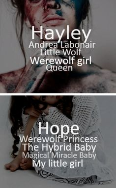 TVD characters - _Hayley/Hope_- Work: D.A.