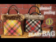 to crochet a plaid bag Burlap, Reusable Tote Bags, Plaid, Crochet, Youtube, Chess, Crocheting, Scotch, Hessian Fabric