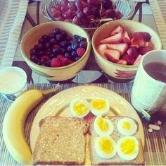 Un rico desayuno