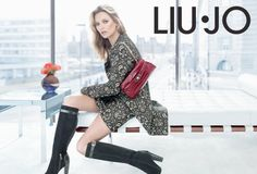 Kate Moss for Liu Jo Fall Winter 2013 Campaign