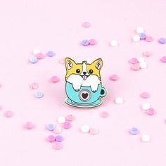Jewelry & Accessories Strict Dog Enamel Pin Corgi Pin Cute Kawaii Animal Puppy Brooches Love Dog Badge Lapel Pin Cartoon Jewelry Gift For Friends Dog Lovers Jewelry Sets & More