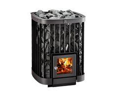 Saga-puukiuas Helolta http://www.helo.fi/tuotteet/kastor/sauna-stoves/saga/