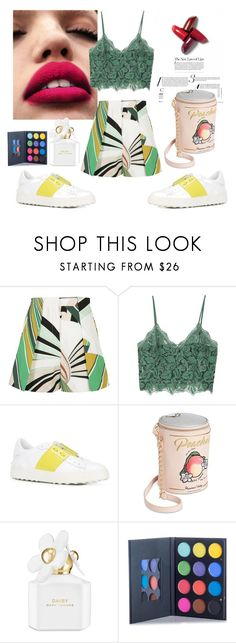 """""""Shimmer beauty"""" by alina-s on Polyvore featuring мода, Emilio Pucci, MANGO, Valentino, Betsey Johnson и Marc Jacobs"""