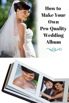 Learn how to make a beautiful diy wedding album using our free make your own wedding album and save free wedding album templates and easy book making pronofoot35fo Images