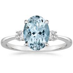 Aquamarine Selene Ring from Brilliant Earth