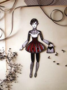 Best Friends  - Emma - Paper doll