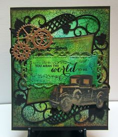 Rebecca from The Rock Crafty Corner: Anniversary Card July 2015