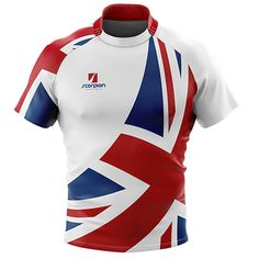 Scorpion Sports UK Rugby Tour Shirts fully sublimation printed rugby shirts within 2 weeks from our UK factory.
