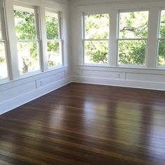 Look at these wood windows and floors that were restored- hard to believe they are over 100 years old! #magnoliahomes Fixer Upper, Home Renovation, Home Remodeling, Chip Und Joanna Gaines, Four Seasons Room, Room Additions, Wood Windows, Magnolia Homes, Magnolia Design