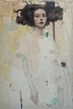 Abstract Portrait, Portrait Art, Figure Painting, Painting & Drawing, Large Painting, Figurative Art, Female Art, Art Inspo, Contemporary Art