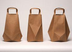 """Bolsas de papel """"Origami"""""""