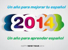 Empieza un nuevo año, el 2014 con nuevas ilusiones y retos:  ¿quieres aprender español? ¿quieres mejorar tu español?  Desde www.e-spanishonline.com te animamos para que empieces tu clases. Spanish Lessons, Tech Companies, Company Logo, Learning Spanish, Illusions