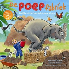 Welke kleuter houdt nou niet van poep? Heerlijk om lekker over poep te mogen praten in de kinderboekenweek. Win het boek! Recensie en win De poepfabriek Zoo Animals, Safari, Geek Stuff, Van, Science, Baseball Cards, Reading, Kids, 3d Printing