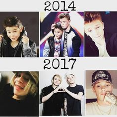 It's crazy how someone can change so much in 3 years