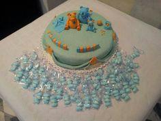 Torta e confetti battesimo