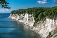 Chalk cliffs of Rügen, Germany's largest island. #germany25reunified Enter the #InspiredBy Pinterest Contest for your chance to win a trip to Germany!