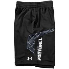 Under Armour NFL Combine Warp Speed Football Short - Men's - Football - Clothing - Black/White