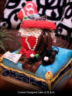 Happy 18th Birthday Cake